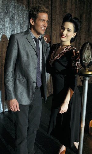 Dita Von Teese gets a style makeover for her TV debut