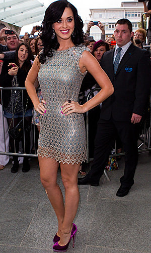 PICS: Katy Perry glistens as latest X Factor 2010 judge