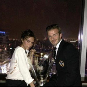 David Beckham shares cute family pictures!