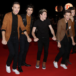One Direction and Taylor Swift hit the NRJ Music Awards 2013