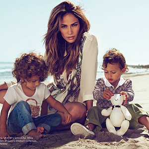 SEE PICS! J-Lo and kids front Gucci campaign