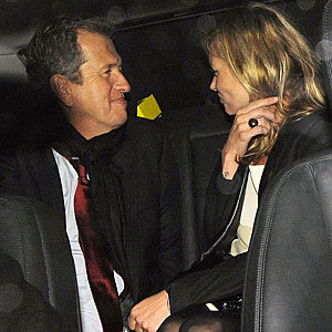 Kate Moss and Mario Testino hit the town looking super-stylish