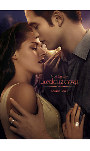 FIRST LOOK: Official Twilight: Breaking Dawn Part 1 posters revealed!