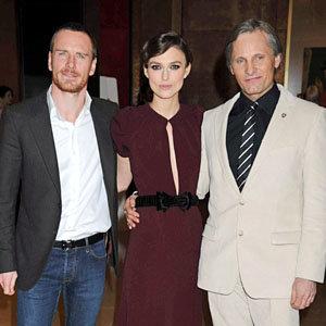 Keira Knightley wows in Burberry at A Dangerous Method premiere