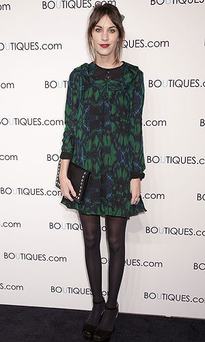 Alexa Chung, Carey Mulligan and the Olsens hit the Google Boutique.com party!