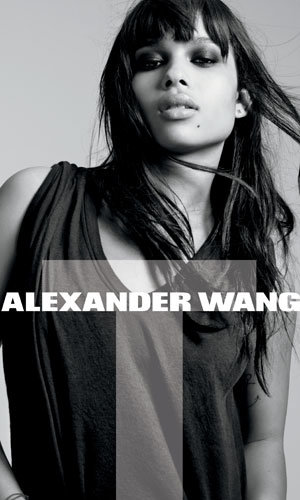 SEE: Alexander Wang's first video campaign and Zoe Kravitz fronting the latest T collection