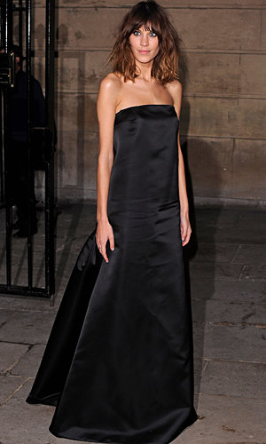 Alexa Chung hypnotised at Stella McCartney dinner