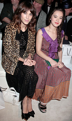 Alexa Chung and Rose Byrne are front row fabulous at New York Fashion Week