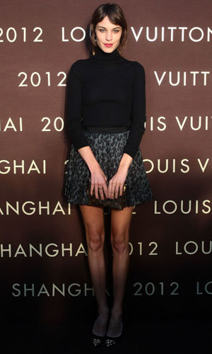 Alexa Chung, Clemence Poesy and Poppy Delevingne party with Louis Vuitton!
