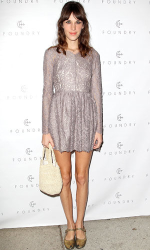 Alexa Chung glams up The Foundry store opening