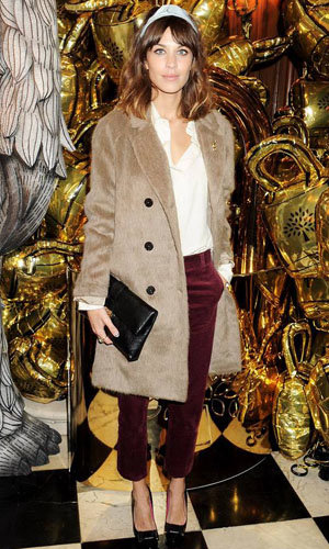 Alexa Chung's Mulberry outfit and more fashion goodies up for grabs with InStyle and The British Heart Foundation!