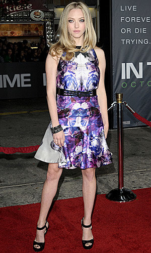 CHECK OUT Amanda Seyfried and Justin Timberlake at the In Time premiere