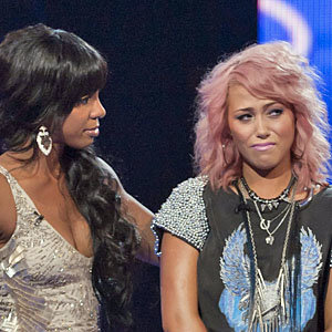 X FACTOR TWIST: Kelly Rowland loses Amelia Lily while Gary Barlow gives James Michael the boot!