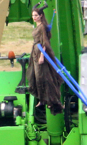 WOW! Angelina Jolie does ALL her own stunts for new movie Maleficent