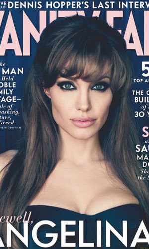 Angelina Jolie smoulders in new photoshoot