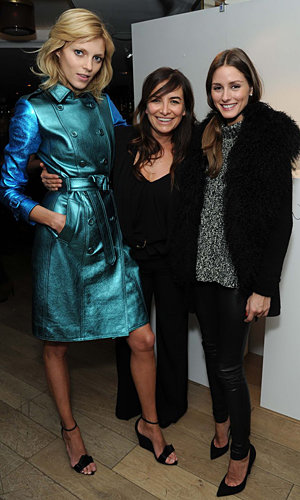 Olivia Palermo and Pixie Lott party at Wendy Rowe fashion week bash