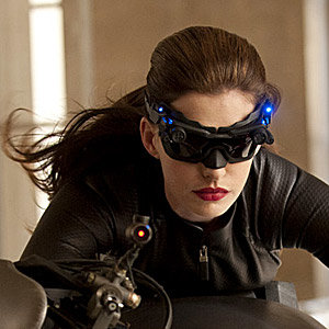 FIRST PIC: Anne Hathaway as Catwoman!