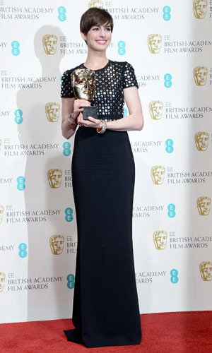 BAFTAs 2013 winners: Anne Hathaway, Skyfall and Les Miserables