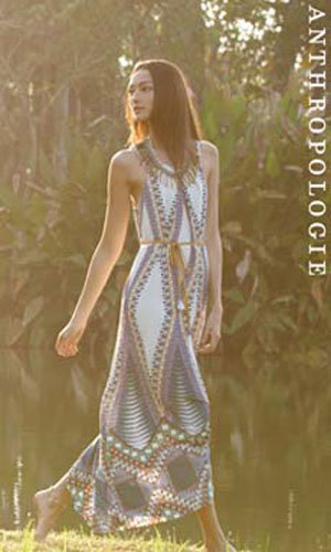 This Friday #InStyleVIP is giving you the chance to win this stunning Anthropologie dress from their new Spring Summer collection!