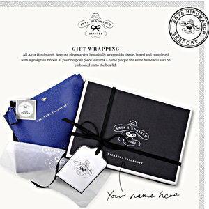 Anya Hindmarch launches online bespoke service