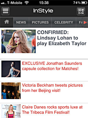 InStyle launches reader App!