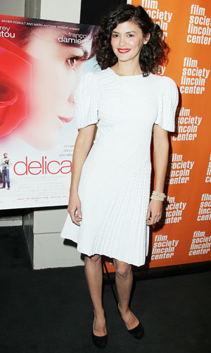 Audrey Tautou at the Delicacy premiere!
