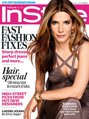 InStyle's August issue is out
