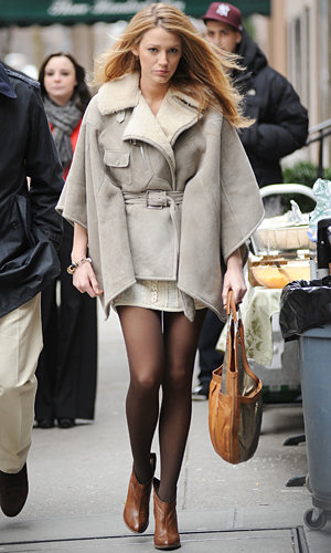 NEW GOSSIP GIRL PICS: Blake, Chace and Penn return to New York for filming