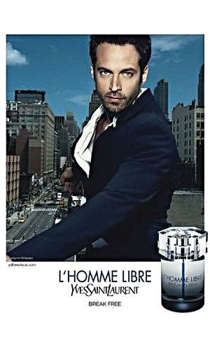 First Look! Benjamin Millepied fronts YSL ads