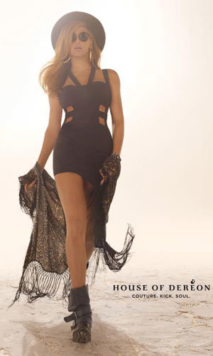 Beyonce works it for House of Dereon