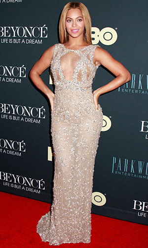 Beyonce goes nude to premiere her Life Is But A Dream documentary