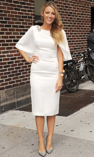 Blake Lively works two wow-worthy dresses in one day!