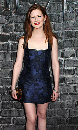 Harry Potter stars Bonnie Wright and Clemence Poesy hit New York for Grand Opening of Harry Potter Exhibition