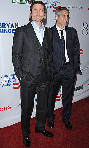 Brad Pitt and George Clooney co-star together again in 8!
