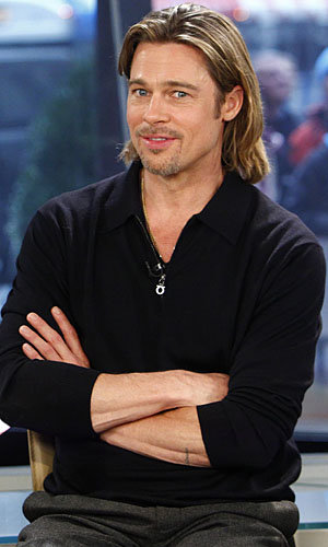 Brad Pitt rocks two dapper outfits in one day!