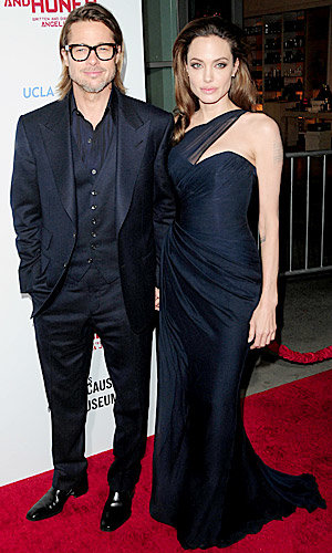 Brad Pitt, Angelina Jolie and Gwen Stefani hit the In The Land of Blood and Honey premiere!