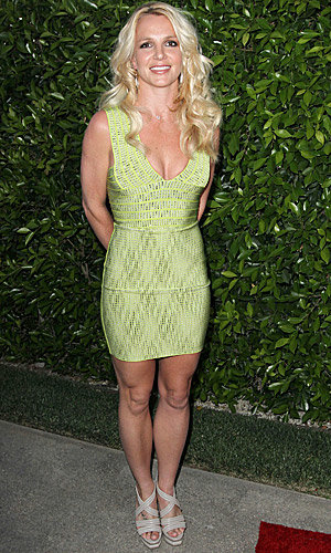 SEE PICS: Britney Spears glams it up in Hervé Léger