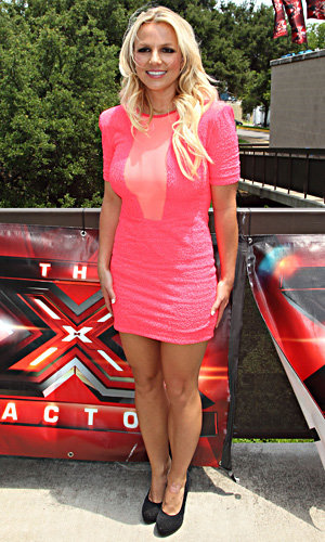Britney Spears at first X Factor US audition!
