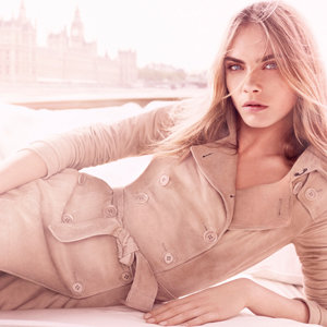 Cara Delevingne fronts Burberry Body's new Tender fragrance