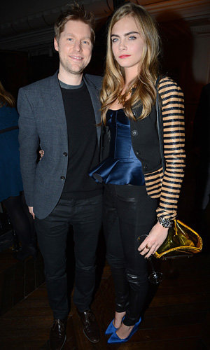 Cara Delevingne hits Burberry Jake Bugg show in London