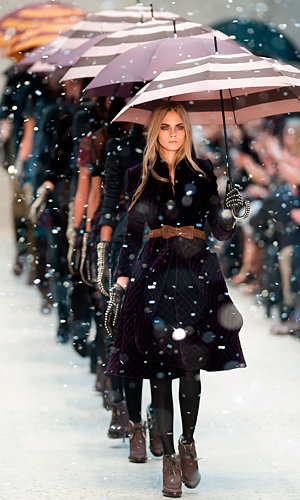 Big guns Burberry and McQ steal the show!