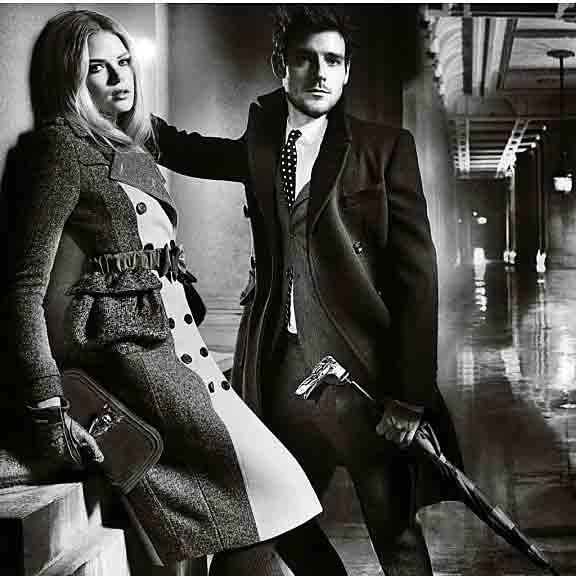 Burberry launches stunning AW 2012 campaign