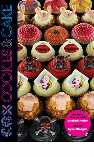 WIN a copy of Cox Cookies and Cake signed by Patrick Cox!