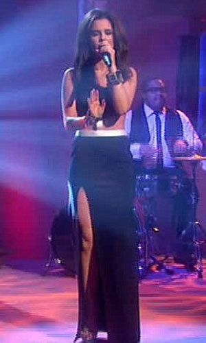 Cheryl Cole hit all the right notes as she performed live on Alan Carr show!