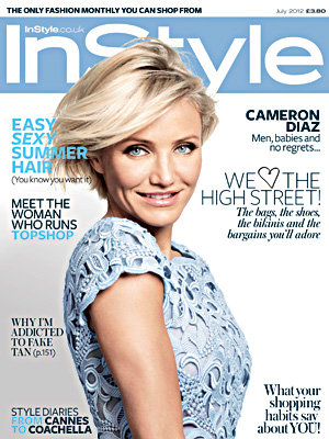 Cameron Diaz covers InStyle!