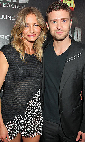 Cameron Diaz and Justin Timberlake sizzle at Bad Teacher premiere
