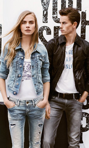 Cara Delevigne is the new face of Pepe Jeans