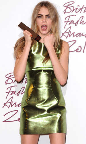 British Fashion Awards 2012: Cara Delevingne crowned Best Model and Alexa Chung named Style Icon