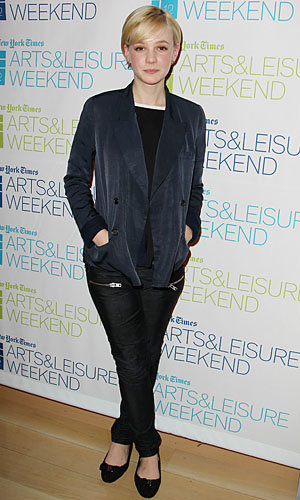 SEE PICS: Carey Mulligan scores style points for her androgynous look