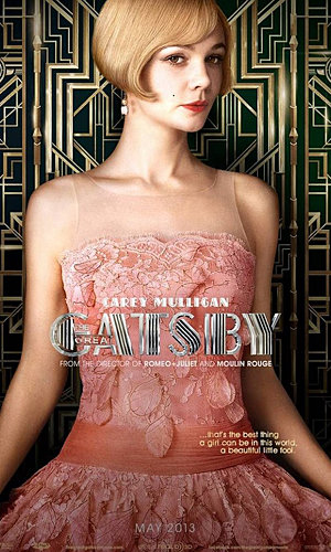 Leonardo DiCaprio and Carey Mulligan's smouldering The Great Gatsby posters revealed